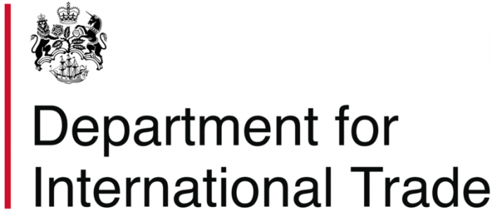 Logo for Department for International Trade
