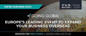 Going Global event logo