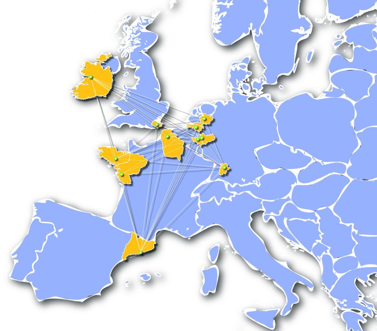 Boost4Health Regions Map
