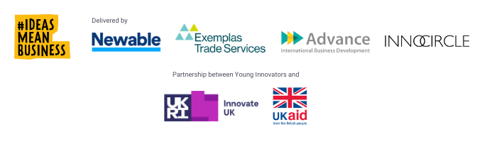 Logos for Global Young Innovators Programme