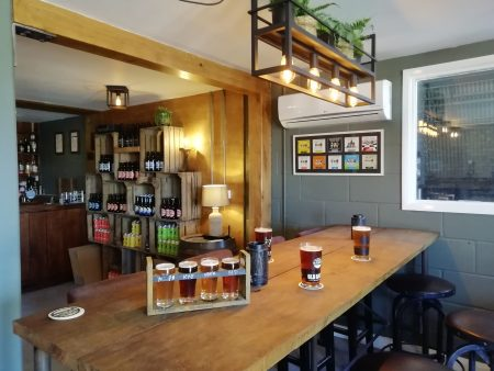 Image showing the bar at Old Dairy Brewery